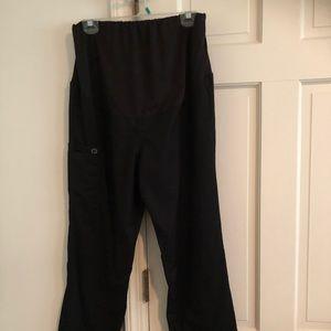 Wonder Wink / Work Maternity Pants Black Medium